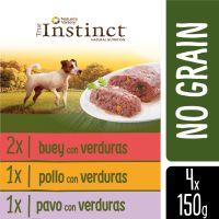 4 x 150 g True Instinct No Grain Mini Multipack