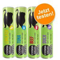 62 g Cosma snackies Probiermix, alle 4 Sorten