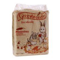 1 kg Greenwoods Foin de prairie, carottes