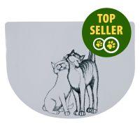 Preș pisici îmbrățișate - 40 x 30 cm