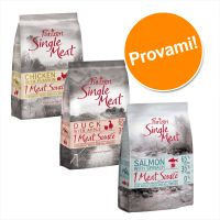 Set misto! Purizon Single Meat Adult - senza cereali (3 x 1 kg)