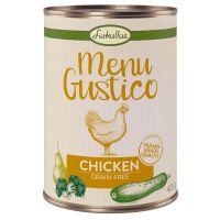 Lukullus Menu Gustico - kuře s brokolicí, cuketou a hruškou 6 x 800 g