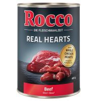 Rocco Real Hearts 6 x 400 g - Govedina