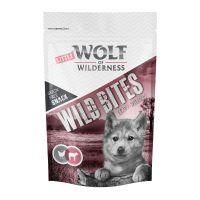 Wolf of Wilderness Snack - Wild Bites Junior Leafy Willows - Vițel 180 g