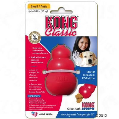 KONG Classic - L, kb. 10 cm