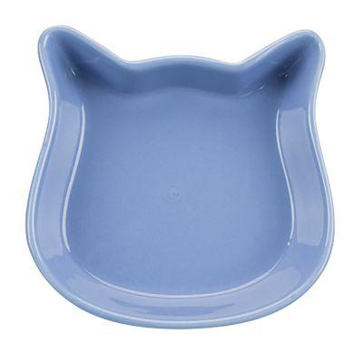 250ml Trixie Cat Head Ceramic Bowl