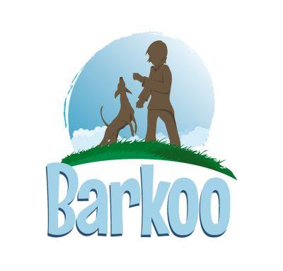 6 x 7cm Barkoo Knotted Dog Bones - Beef