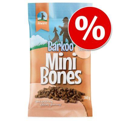 Barkoo Mini Bones (semi-moist) lazac - 200 g