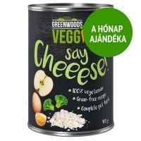 A hónap ajándéka: 400 g Greenwoods Veggie krémsajt, tojás, alma & brokkoli