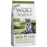 1 kg Wolf of Wilderness Senior Green Fields com cordeiro