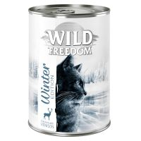 Wild Freedom Winter Edition, peura & kana 6 x 400 g