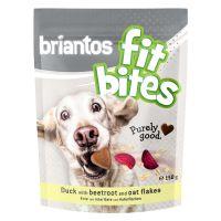 """Briantos """"FitBites"""" - Rață cu sfeclă roșie & fulgi de ovăz, 150 g"""