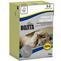 1 x 190 g Bozita Feline - Indoor & Sterilised