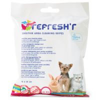 Savic Refresh'r Wipes Sensitive - 20 Pack