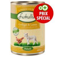 Boîte pour chien Lukullus, volaille agneau, 1 x 400 g