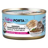 90 g Feline Porta kattevådfoder - Tun med brisling