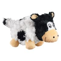 Small KONG Barnyard Cruncheez Cow Dog Toy
