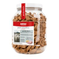 MERA pure sensitive Goody Snacks 600 g - krůta & brambory, bez obilnin