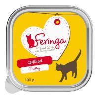 6 x 100 g Feringa Classic Meat Menü Schale, gemischtes Paket