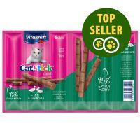 Vitakraft Cat Stick Mini - Kacsa & nyúl - 6 x 6 g