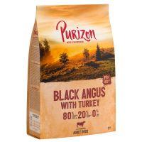 REȚETĂ NOUĂ: Purizon Adult Vită Black Angus și curcan - fără cereale, 1 kg