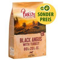 NOUVELLE RECETTE : Purizon Adult Black Angus, dinde sans céréales pour chien