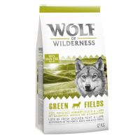 "1 kg Wolf of Wilderness ""Green Fields"" - jehněčí"