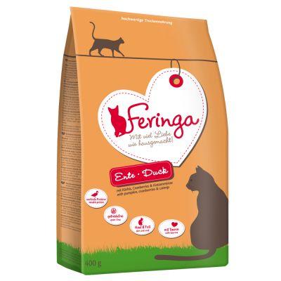 Lot mixte de croquettes Feringa 2 x 400g pour chat