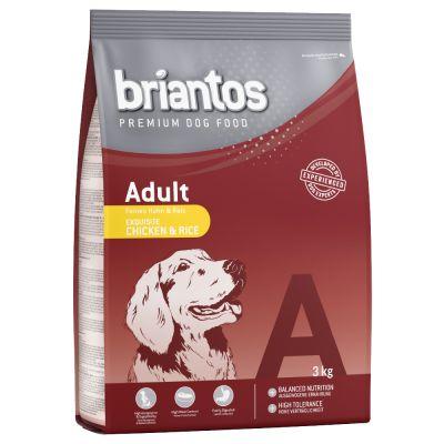 3kg Briantos Adult Dog Food - Chicken & Rice