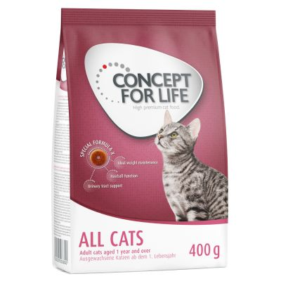 400g Concept for Life All Cats