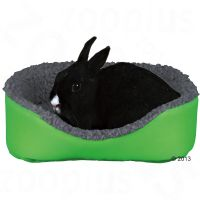 Trixie mysig säng för smådjur - grön