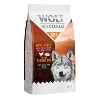 Wolf of Wilderness Soft Wide Acres, poulet 350 g pour chien