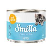 6 x 200 g Smilla Kitten frango