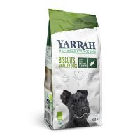 250g Yarrah Organic Vegetarian Multi Dog Biscuits