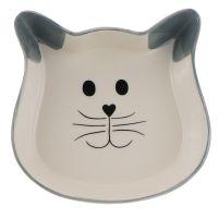 Trixie Bol ceramic model pisică, 250ml, Ø 12cm
