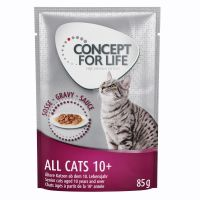 12 x 85 g Concept for Life All Cats 10+ i sauce