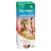 My Star is a Food Lover - lajitelma, 10 x 85 g (4 makua)