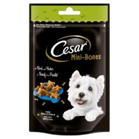 100g Cesar Mini Joys Dog Snacks - Cheese & Chicken