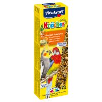 Honey Vitakraft Parakeet Cracker Sticks