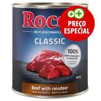1 x 400 g Rocco comida húmida Vaca com veado (Rocco Classic)