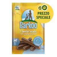 Barkoo Dental Snack per cani di taglia grande (7 pz, 270 g)