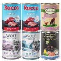 Ekskluzivna premium mokra hrana-za pse - Junior miks (brez žit) 6 x 400 g