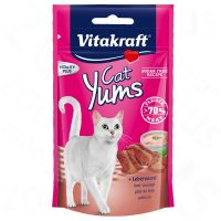 40g Vitakraft Cat Yums Liver Sausage Cat Treat