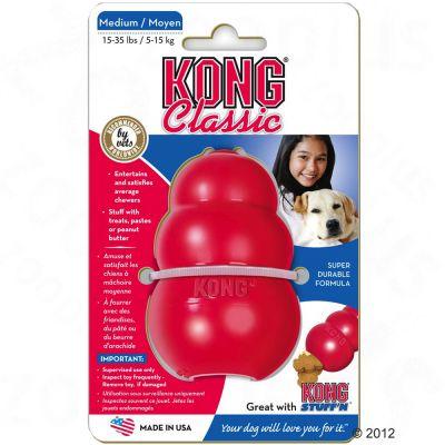 9cm KONG Classic Dog Toy - Medium