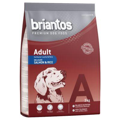 3kg Briantos Adult Dog Food - Salmon & Rice