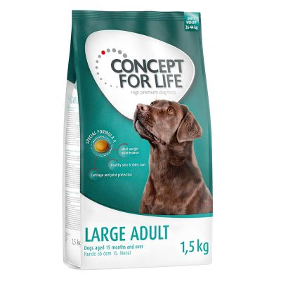 1.5kg Concept for Life Large Adult Dry Dog Food