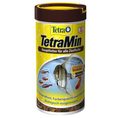 Aliments en flocons TetraMin pour tous les poissons d'ornement (250 mL)