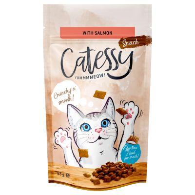 65g Catessy Crunchy Snacks - Salmon, Vitamins & Omega-3
