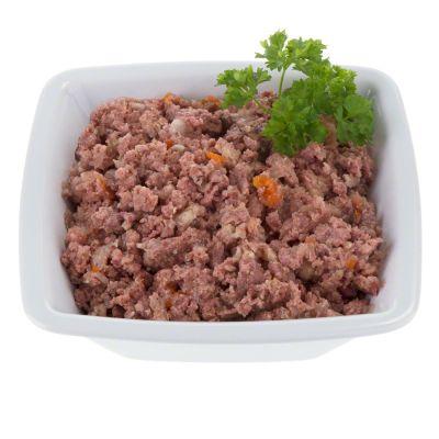 6 x 400g Lukullus Junior Dog Food - Chicken & Veal