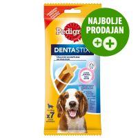 Pedigree Dentastix dnevna nega zob za srednje velike pse, 7 kosov